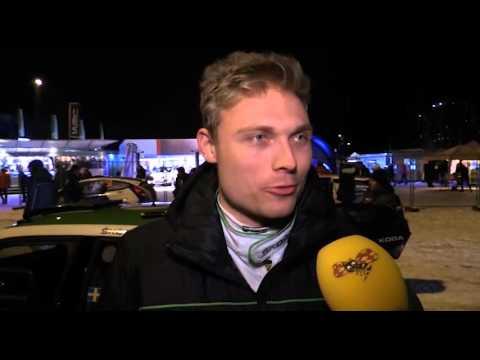 Pontus Tidemand har häng på segern i WRC2