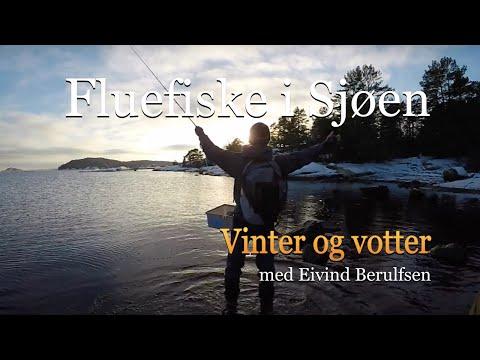 Fluefiske i sjøen. Vinter og Votter. E1-S2. Med Eivind Berulfsen.