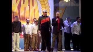 Биатлон и Музыкальный Фристайл.Финал ЦРЛ КВН 2012