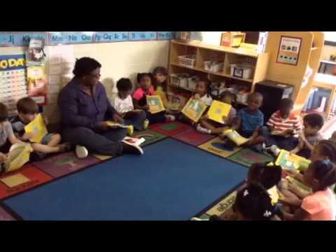 Broward Reads with Oakland Academy Preschool