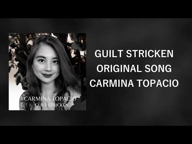 "Official Lyric video for Carmina's New Single ""Guilt Stricken"""