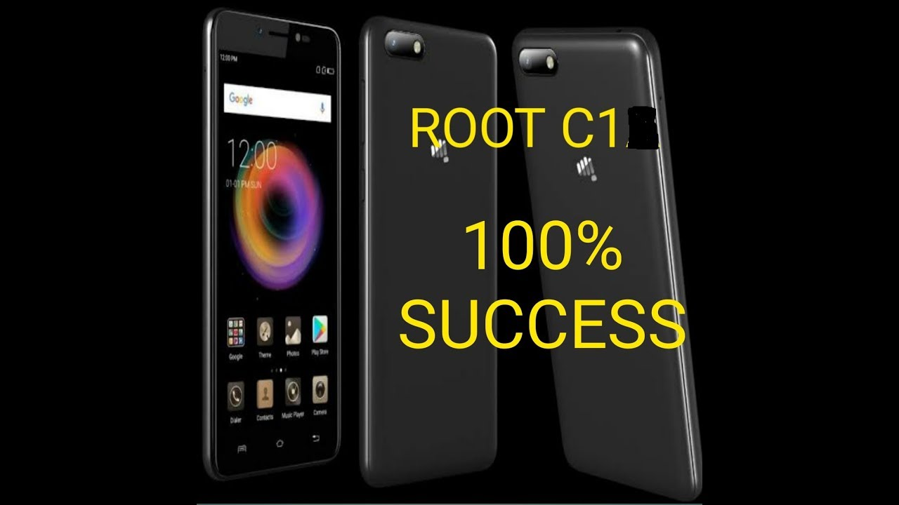 ROOT MICROMAX C1 EASY STEPS