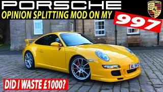 This £1000 Mod will Instantly Split Opinion on my Porsche 911 997 - Porsche UK