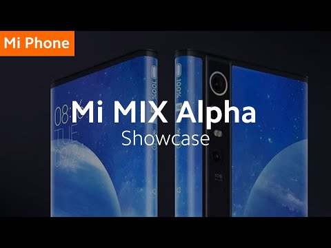 Mi MIX Alpha: Surround Display 5G Concept Smartphone