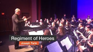 Regiment of Heroes Performed by Pensacola State College Wind Ensemble - October 15, 2018