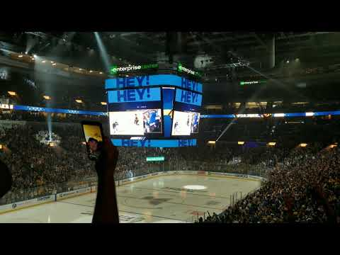 6/12/19 - Stanley Cup Finals Game 7 Watch Party - BLUES GOAL!!! #1