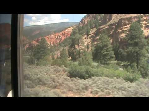 Amtrak California Zephyr #6 East Bound  (5)  8/12/2009