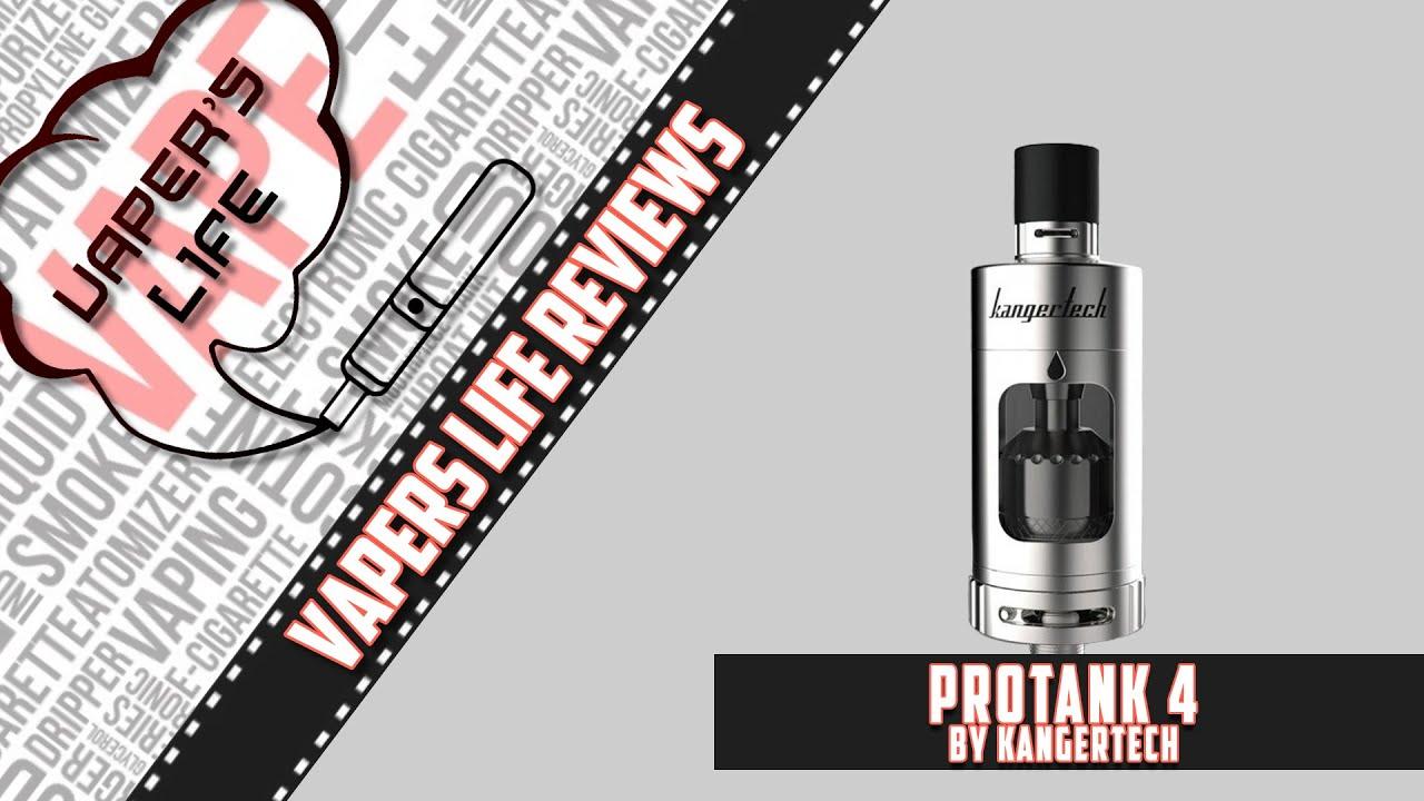Kanger Protank 4 обзор, намотка ProRBA базы - YouTube
