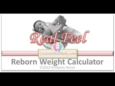 Reborn with Me! Stuffing & Weighting Your Reborn Doll 201: Calculating Lifelike Reborn Baby Weight
