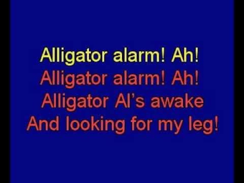 Alligator Alarm karoke movie