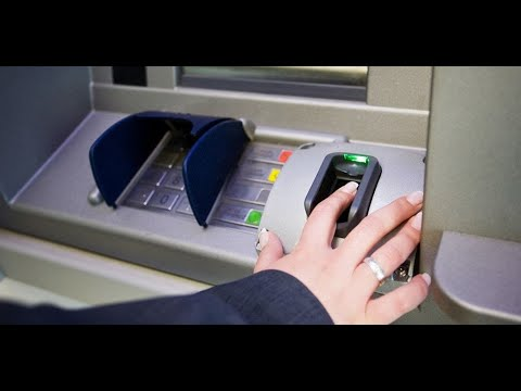 Новые банкоматы для считывания биометрии. Приглашение сдать биометрические данные.