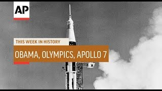 Obama Wins Nobel, Summer Olympics, Apollo 7 | This Week In History | 7 Oct 19