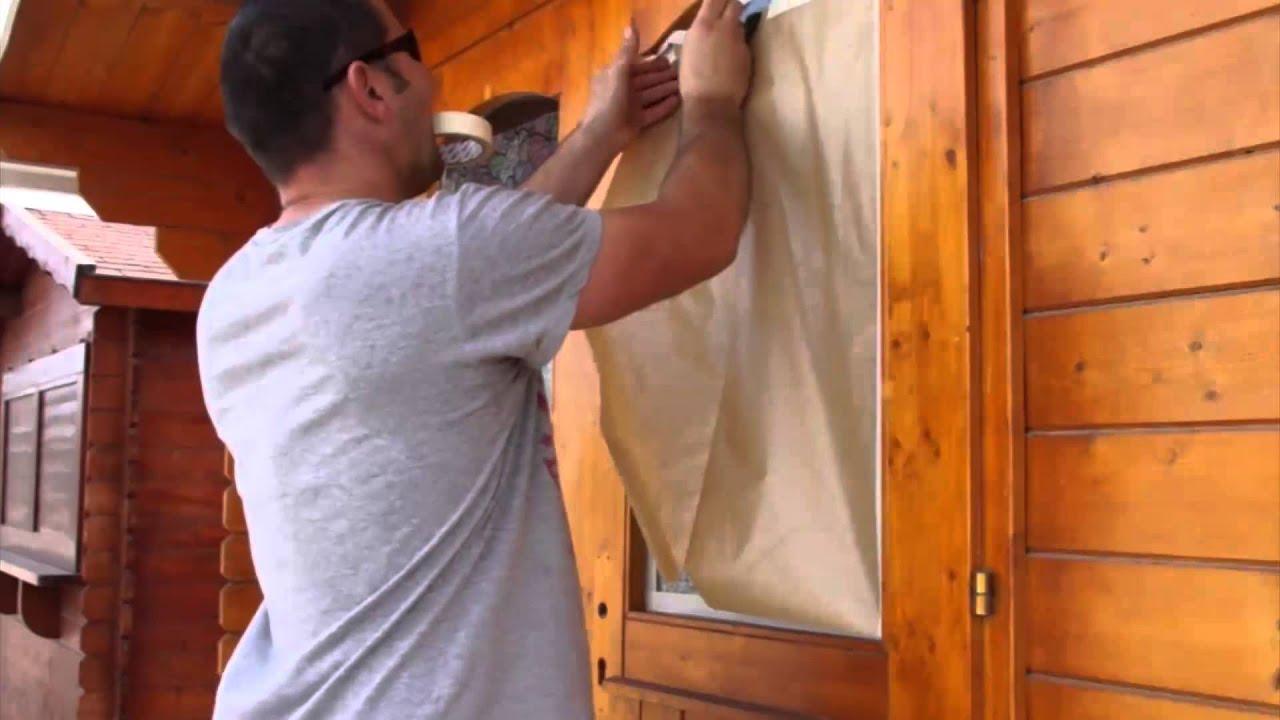 C mo proteger una casa de madera de los rayos solares - Como impermeabilizar madera ...