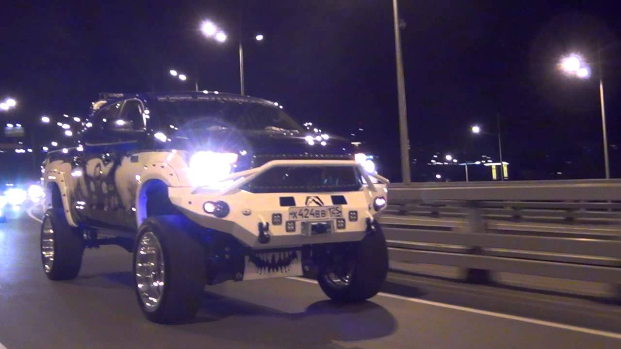 Toyota Tundra Supercharger >> Toyota Tundra Trd Supercharger Metallica Style Ride By Vladimir Solomonovich