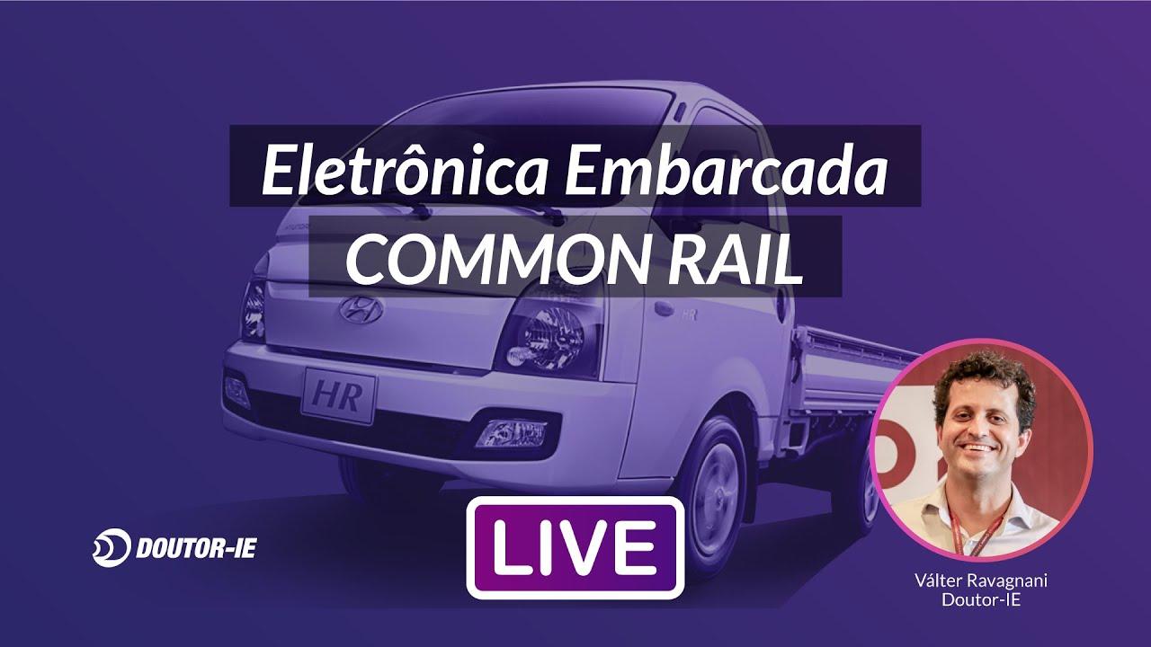 Eletrônica embarcada Common Rail: Hyundai HR e Kia Bongo