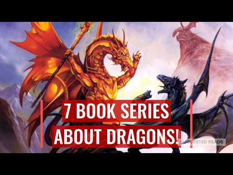 7 GREAT Books About DRAGONS! 🐉 (Fantasy Series)