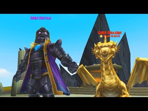 Wizard101: SINBAD & IRON SULTAN GAUNTLET - Level 130