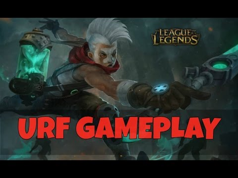 ULTRA RAPID FIRE INSANITY! - League of Legends Full Match Gameplay #5