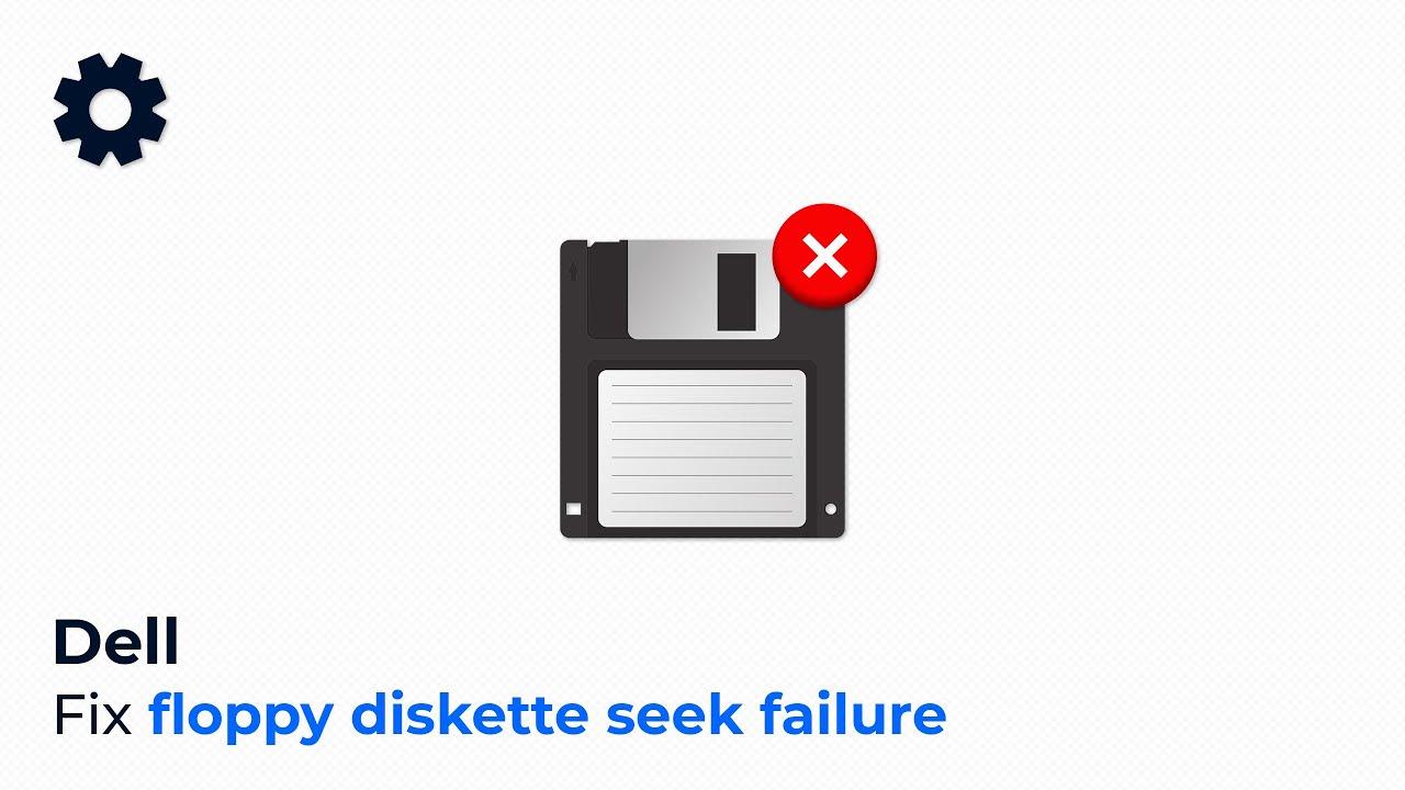 Floppy Diskette Seek Failure Dell Youtube