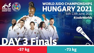 Day 3 - Finals: World Judo Championships Hungary 2021