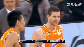Jimmer goes bananas scores 53 as the sharks avenge earlier loss to the gold lions...