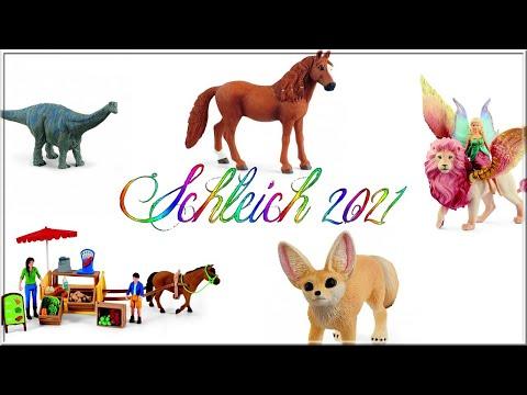 Calendrier De Lavent Schleich 2021 Schleich 2021   YouTube
