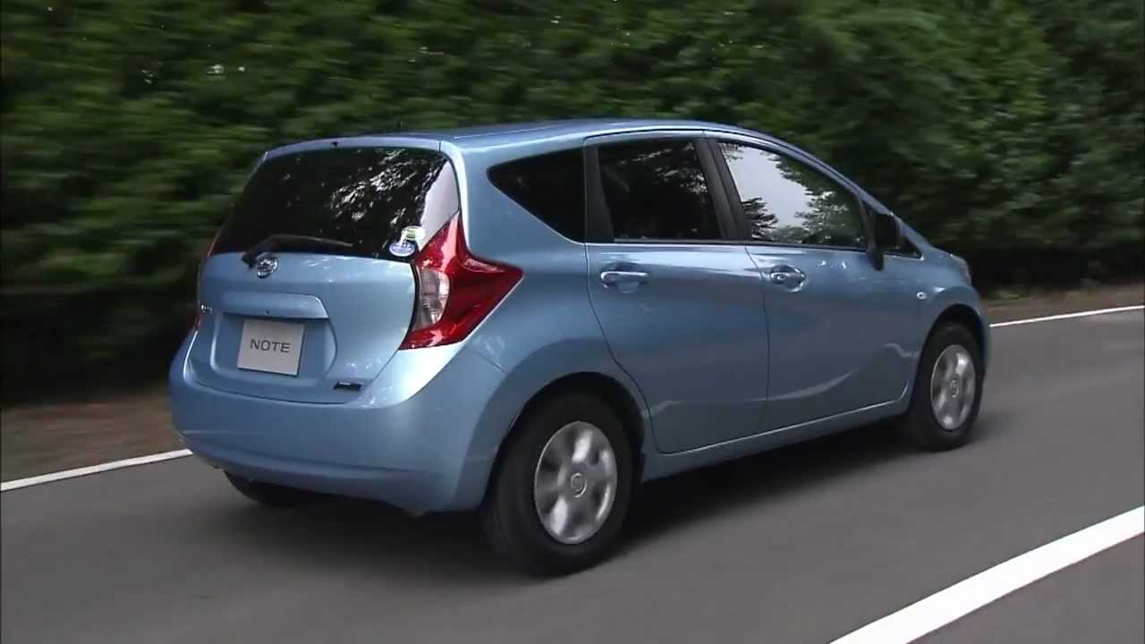 all new 2013 nissan note japanese market youtube. Black Bedroom Furniture Sets. Home Design Ideas