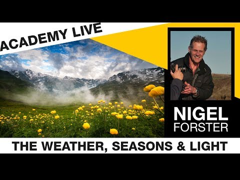 ACADEMY LIVE | Nigel Forster - The Weather, Seasons & Light on the Landscape