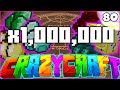 "Minecraft CRAZY CRAFT 3.0 SMP - ""UNLIMITED ITEMS!"" (Equivalent Exchange 3 Mod) - Episode 80"