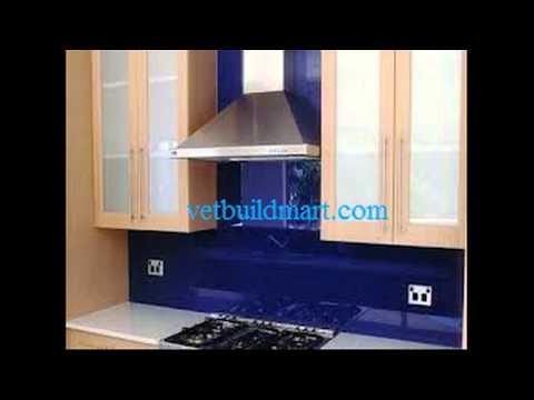 Kính ốp bếp - kính ốp bếp, kính màu ốp bếp