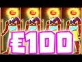 Eye of Horus 👁 Slot Bonus Hunt HUGE BIG WINS 🔥 and €100 MAX BET 😱 4 SCATTER OMG‼️