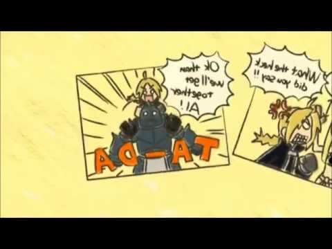 full metal alchemist brotherhood ending 1 latino HD - YouTube