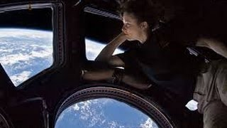 Internatioal Space Station (ISS) Earth view from window HD video