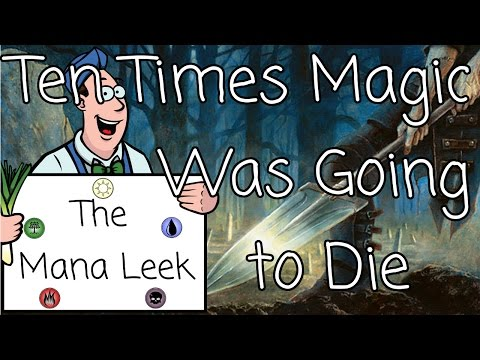Top Ten Times Magic: the Gathering Died