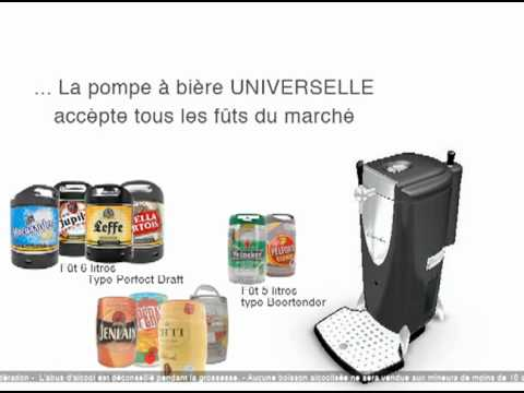 pompe bi re universelle bierbox youtube. Black Bedroom Furniture Sets. Home Design Ideas