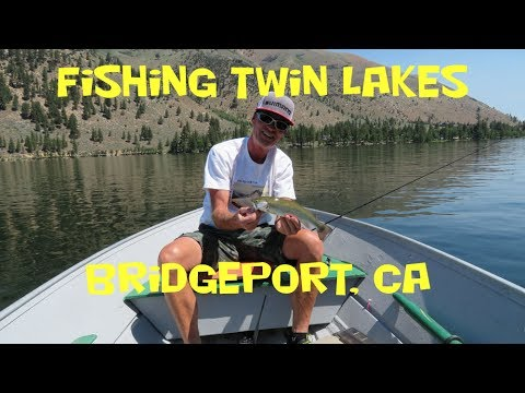 Fishing Twin Lakes,  Bridgeport CA 2017