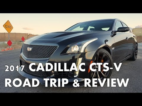 2017 CADILLAC CTS-V - Truly Insane 640 horsepower sedan