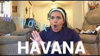HAVANA (camila cabello ft. young thug) REACTION | abbie riedeman