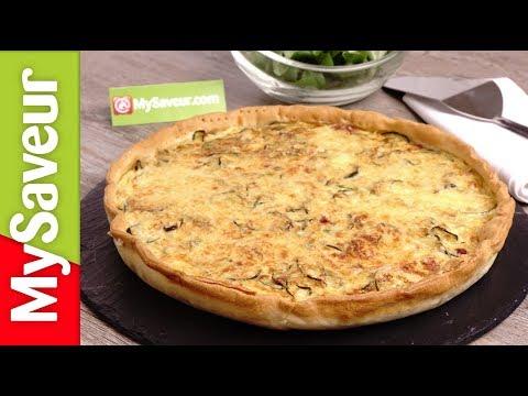 tarte-courgettes-et-lardons