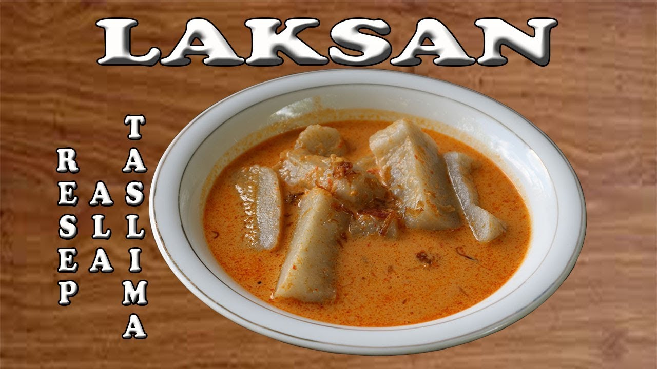 Laksan Khas Palembang Fish Meatball With Spicy Coconut Milk