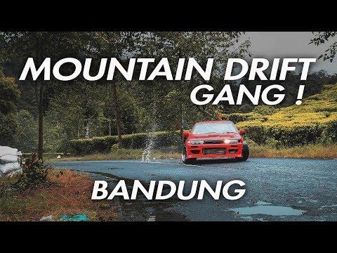 BANDUNG MOUNTAIN DRIFT GANG ! 4K
