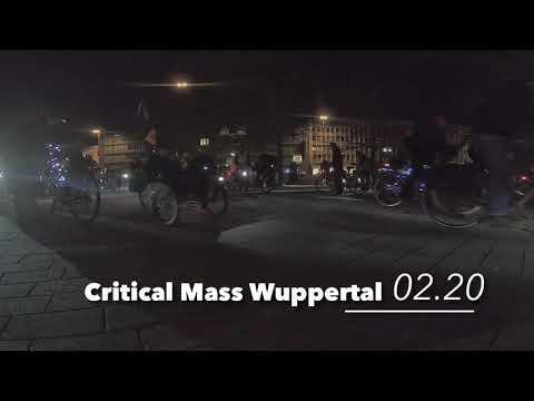 Critical Mass Wuppertal - Februar 2020