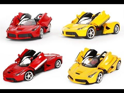 1 14 Scale Ferrari La Laferrari Radio Remote Control Model Car R C Rtr Open Doors Toy