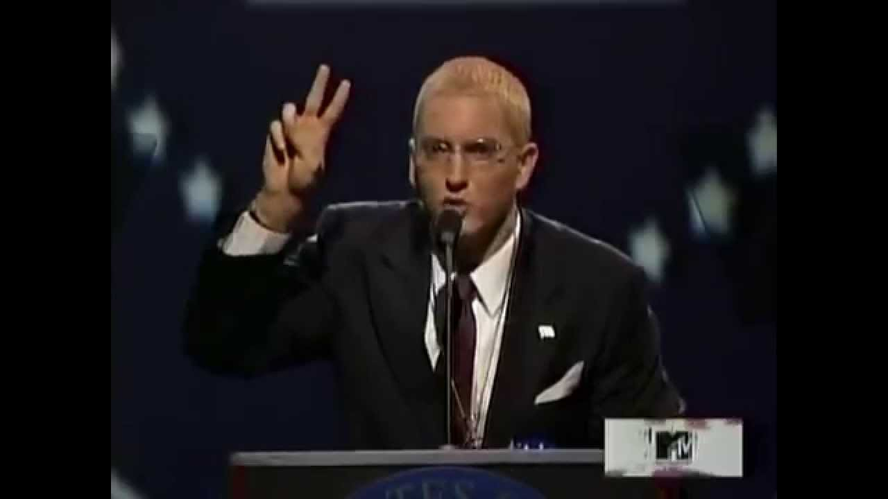 SLIM SHADY PRESIDENTIAL SPEECH (FEAT. DONALD TRUMP) - YouTube