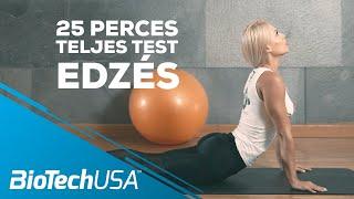 Otthoni Teljes Test Edzés: 25 perces edzés Kiss Virággal (eszköz nélkül, 2019)