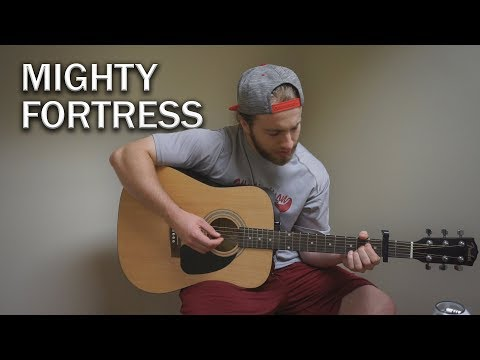 Mighty Fortress - Matt Maher | (Acoustic Cover by Zach Gonring)