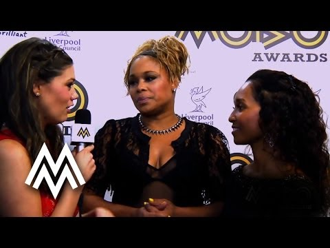 TLC | Talk 'Waterfalls' and Stooshe's cover of the song | Red Carpet Interview | 2012