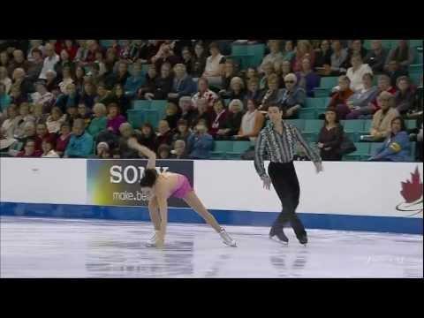 Tessa Virtue & Scott Moir. SD. 2012 Canadian Figure Skating Championships