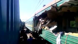 СТОЛКНОВЕНИЕ ПОЕЗДОВ, новости дня сегодня, последние новости россии сегодня, авария поездов видео 48