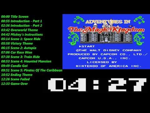 Disney Adventures In The Magic Kingdom (NES) Music / Soundtrack